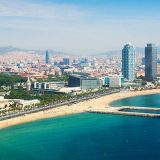 barcelona beach view-being flawless