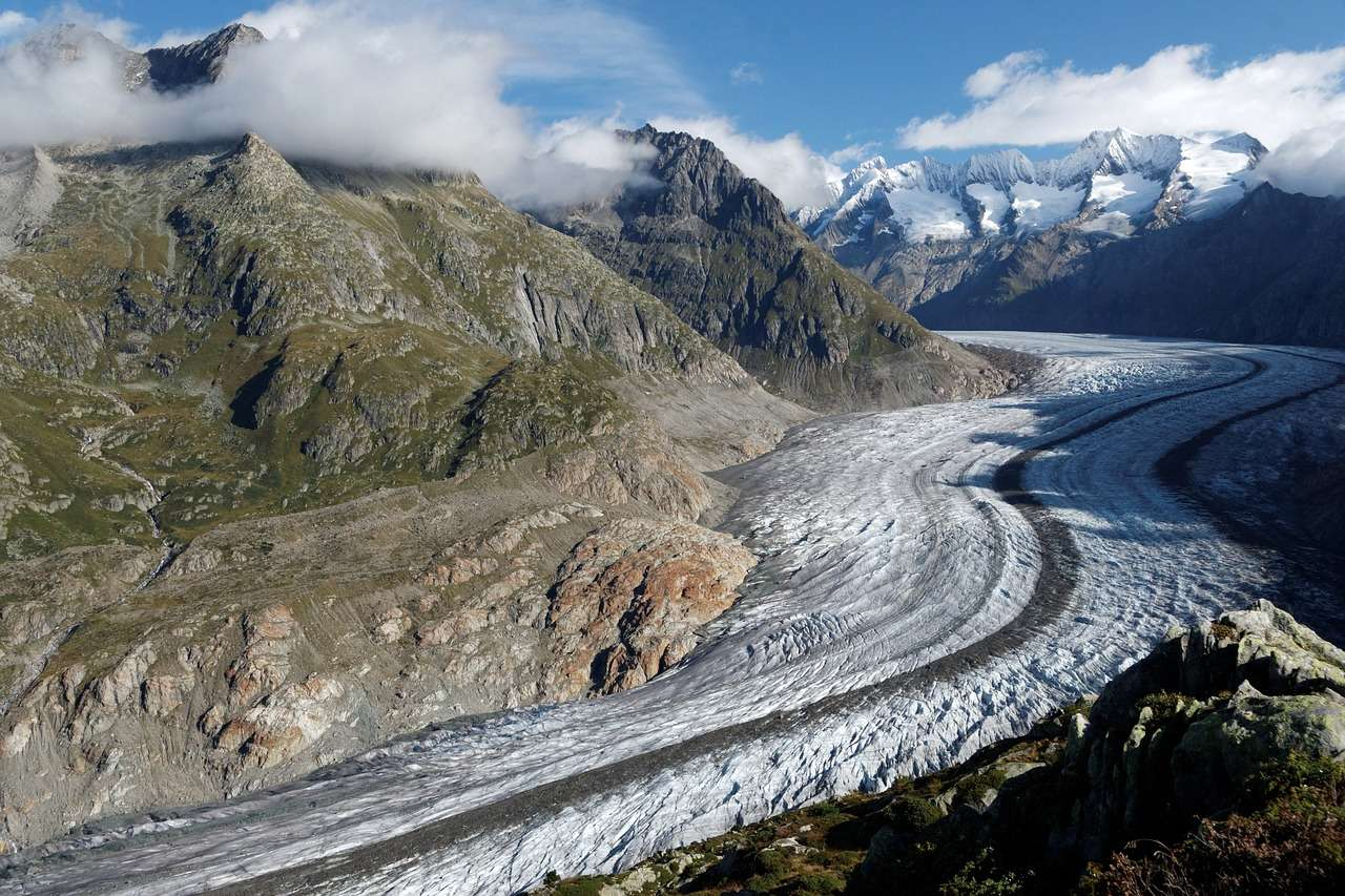 Aletsch glacier - 9 Most Amazing Glaciers in the World Worth Visiting