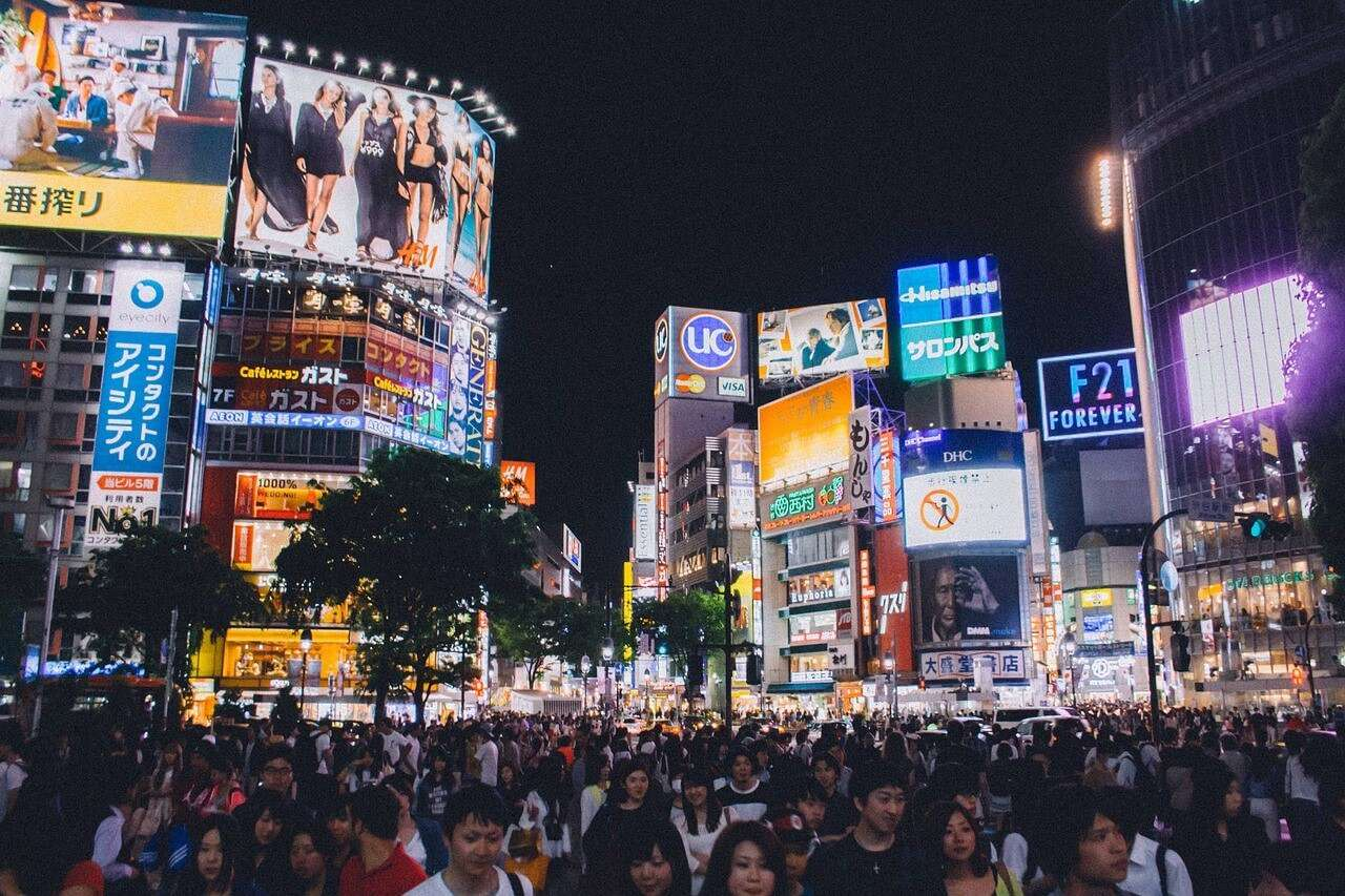 Shibuya Crossing Tokyo xyg6aw - 10 Beautiful Places To Visit At Night