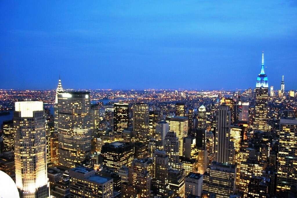 Top of the Rock New York City xzryhn - 10 Beautiful Places To Visit At Night