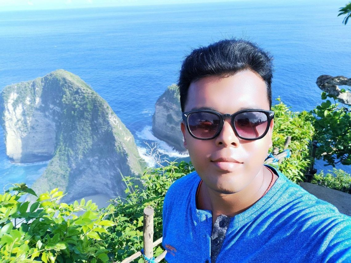 Responsible Traveler- Pranav Das in Nusa Penida