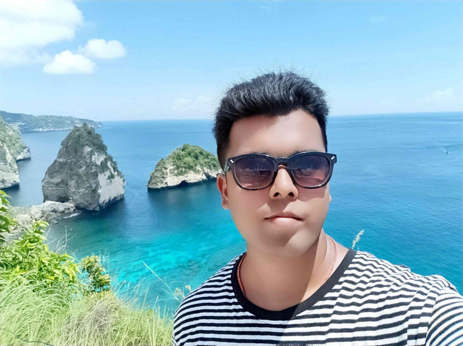 Pranav Das in Bali
