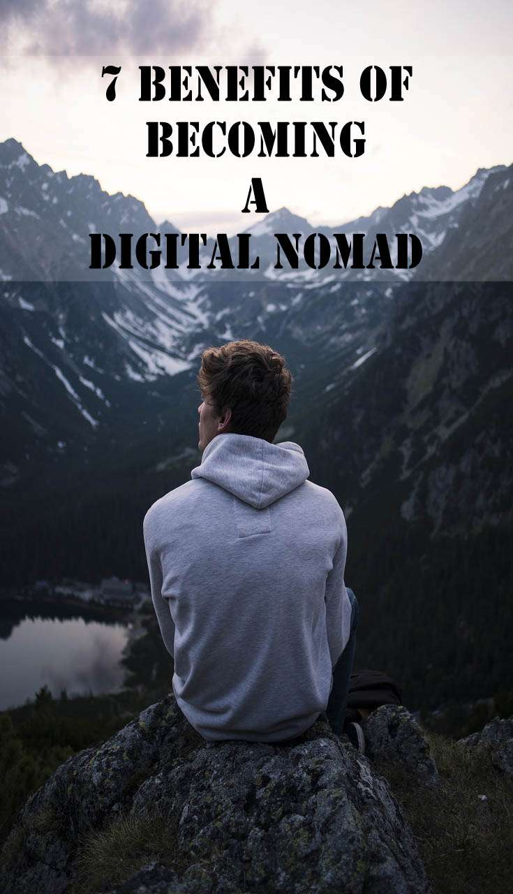 7 Benefits of Becoming a Digital Nomad Vertical Pin