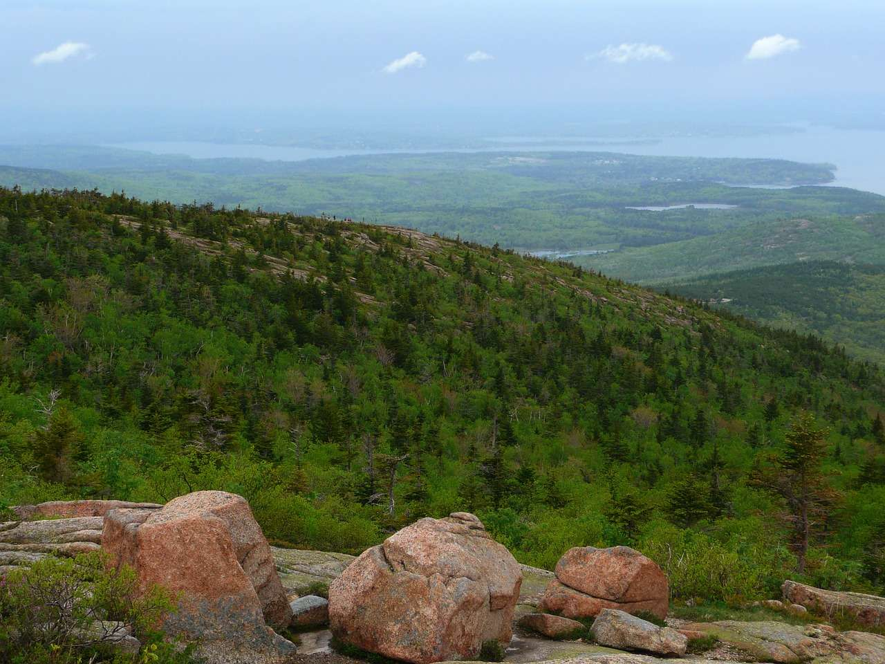Acadia National Park Top View