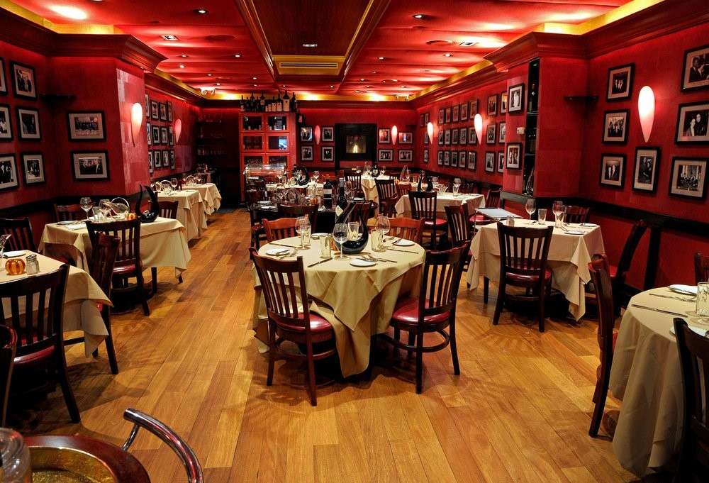 Club A Steakhouse Interior - Best Restaurants in New York Which You Should Try At Least Once