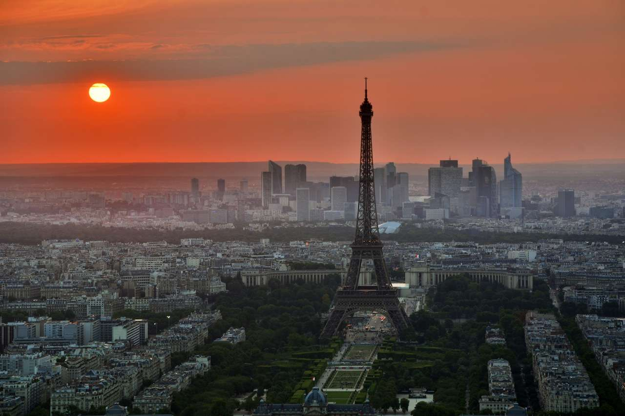 Eiffel Tower View,Paris