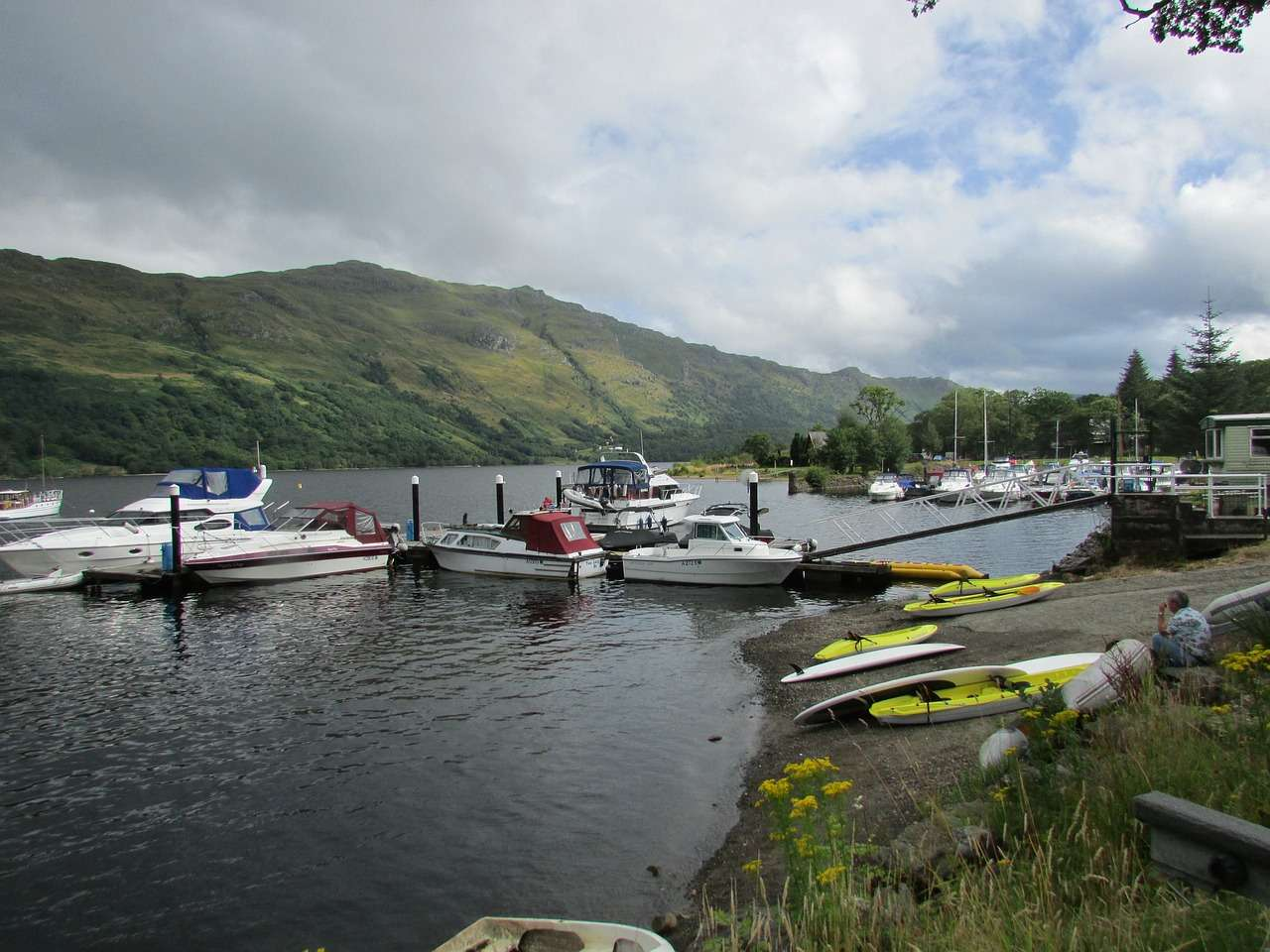 Lake Loch Lomond - Best Places To Visit in Scotland