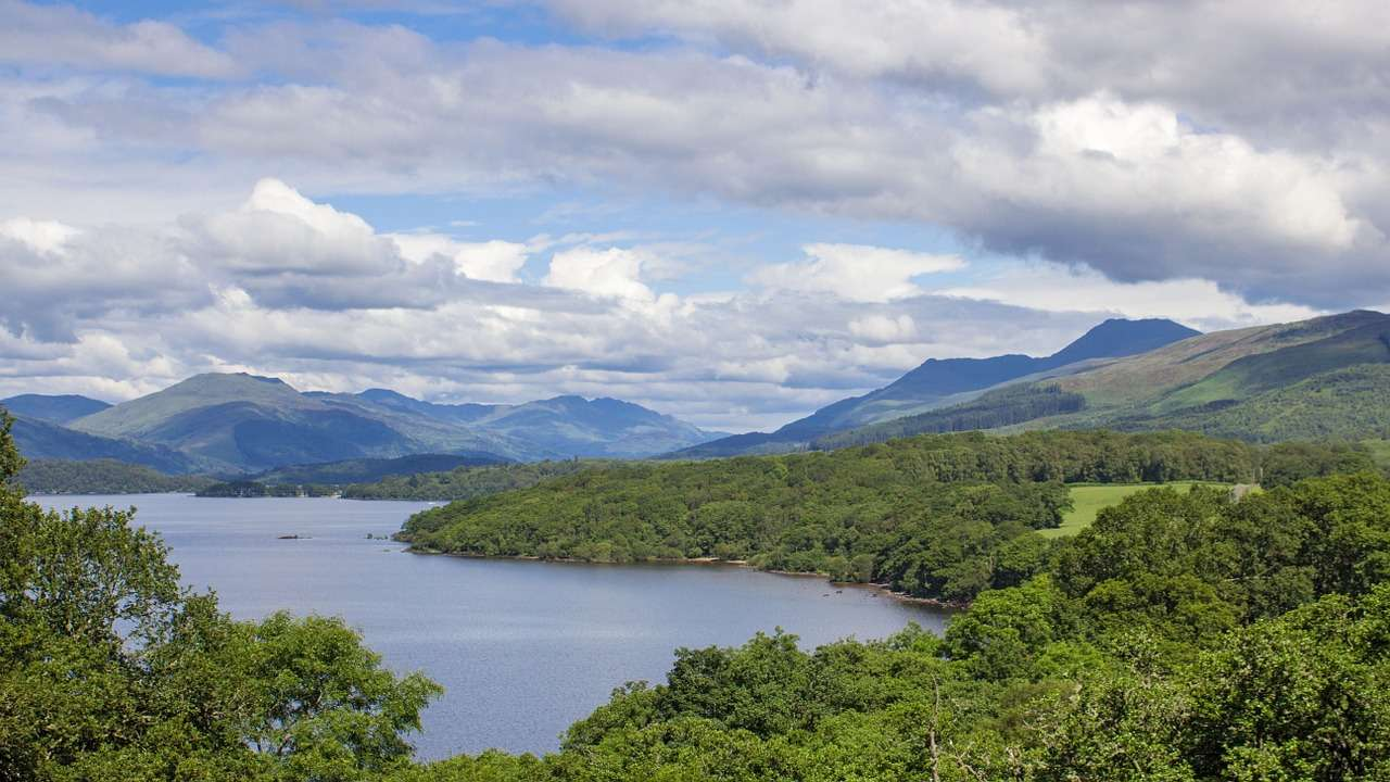 Loch Lomond - Best Places To Visit in Scotland