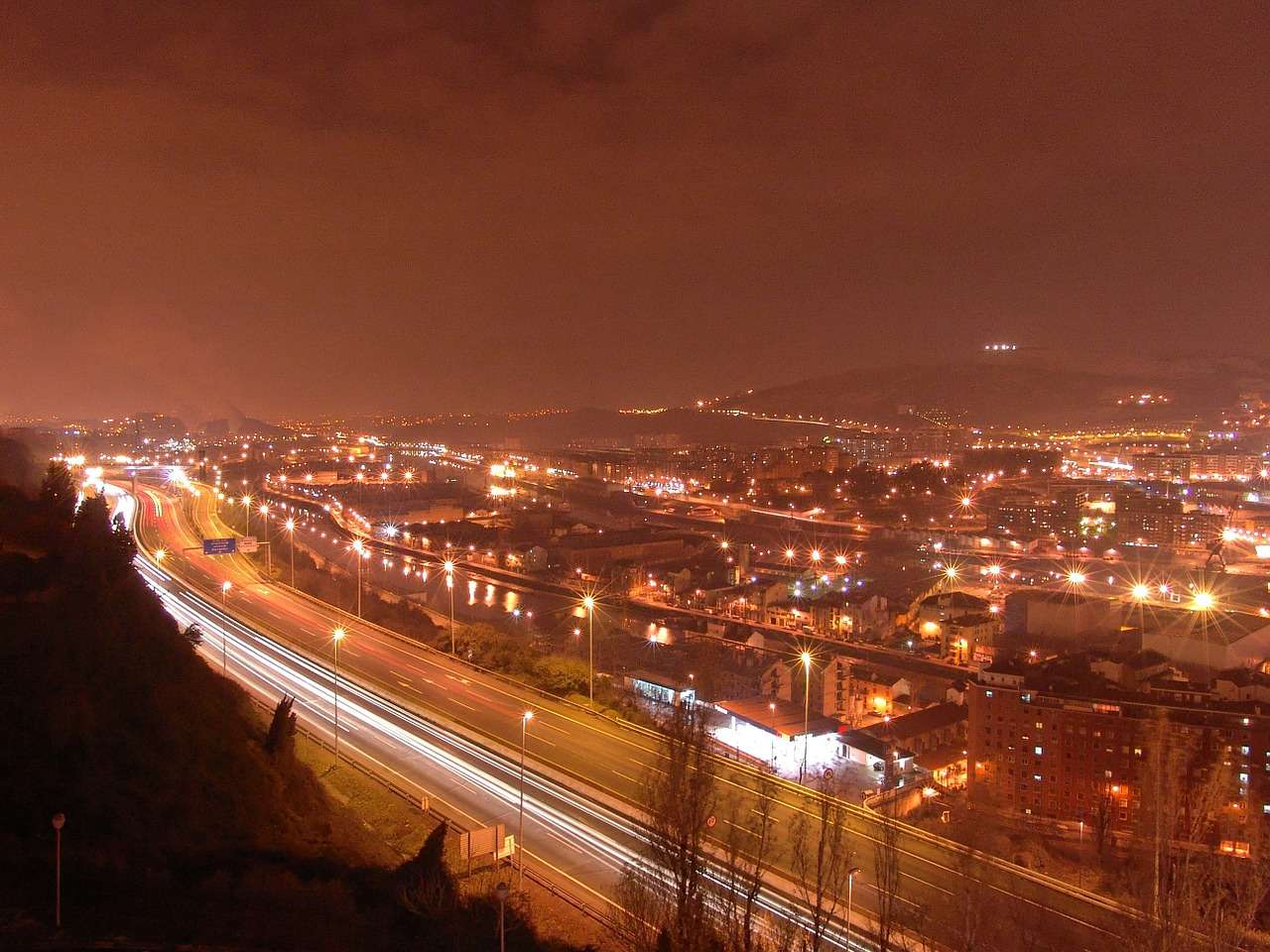 Night View at Bilbao