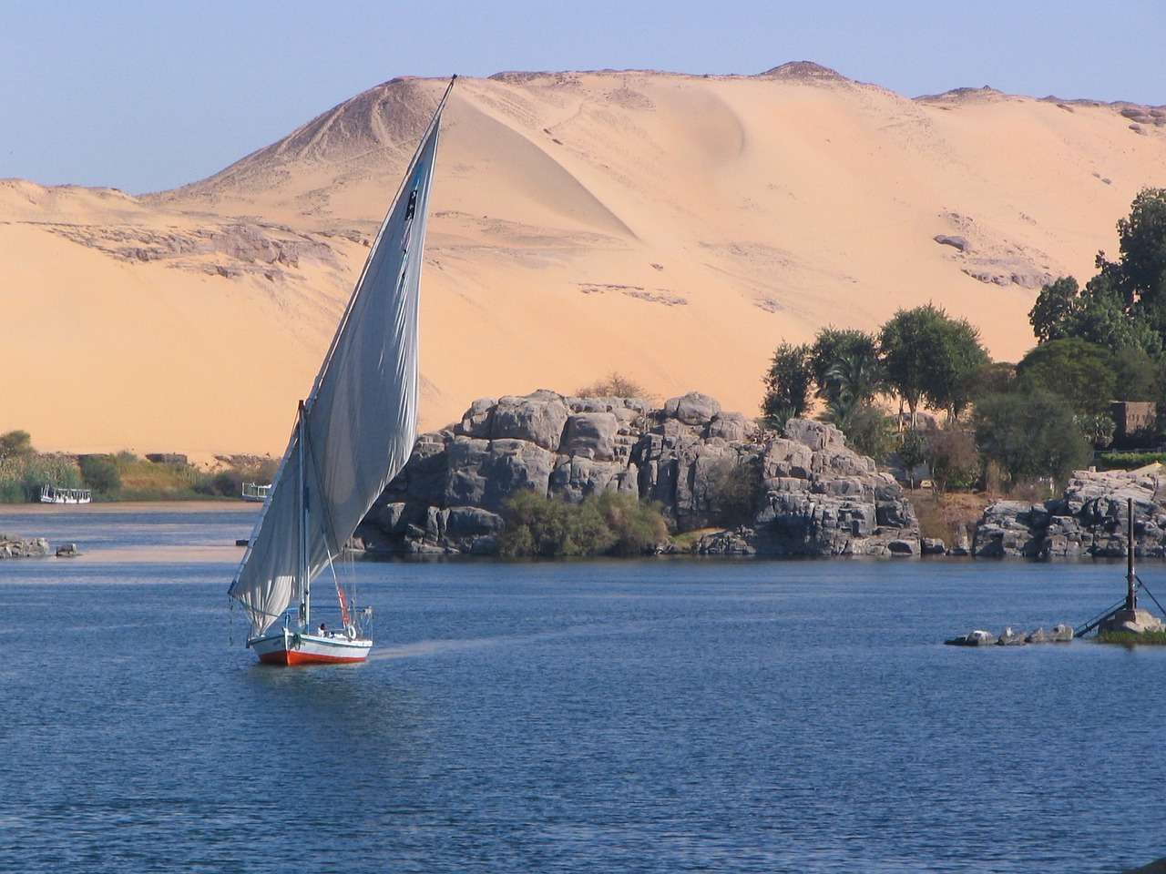 Nile - Destinations to Explore History in Africa and Middle East