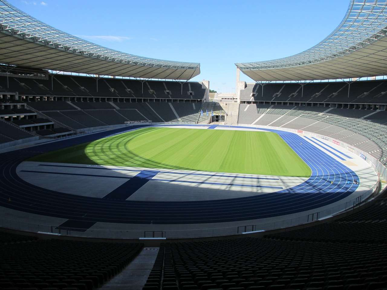 Olympic Stadium Berlin Inside View