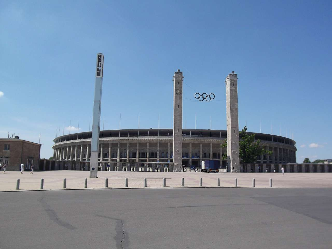 Olympic Stadium Berlin Outside