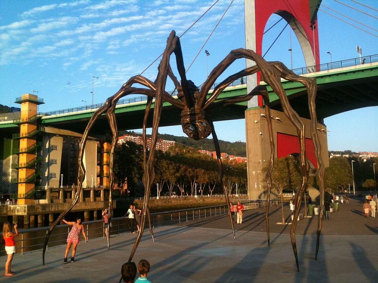 Spider in bilbao Museum