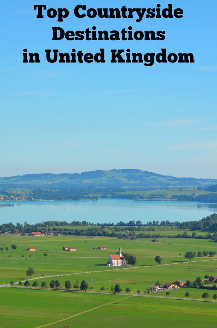 Top Countryside Destinations in United Kingdom