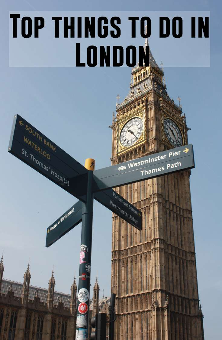 Top things to do in London - Top things to do in London