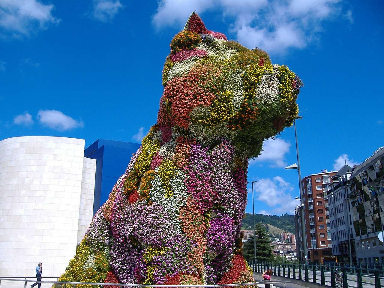puppy flower bilbao museum